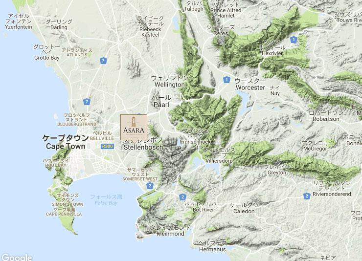 アサラ地図