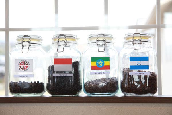 コーヒー4種画像