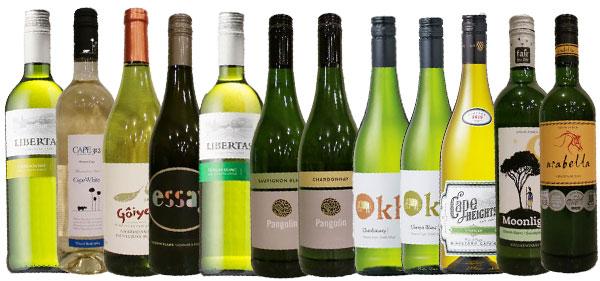 日常ワイン12本セット白だけ