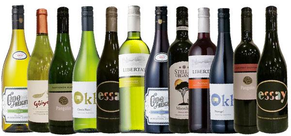 日常ワイン12本セット赤白