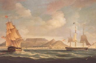 オランダ東インド会社の帆船