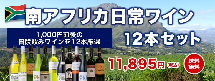 南アフリカワイン専門店 ソムリエ厳選セット